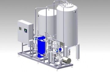 Centec Process System VeGaS vacuum deaeration - remove oxygen from water, liquid food, dairies